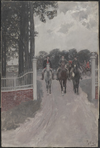 Leaving Mount Vernon for the Congress of the Colonies
