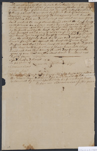 Deed of property in Truro sold to Joshua Rich of Truro by Thomas Dyer of Truro