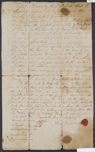 Deed of property in Truro sold to Joshua Rich of Truro by Samuel (Sam) Jenkins Jr. of Gorham, ME