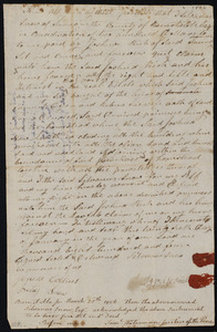 Deed of property in Truro sold to Joshua Rich of Truro by Silvanus Snow of Truro