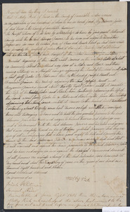 Deed of property in Truro sold to Solomon Paine of Truro by Molly Rich of Truro