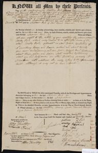 Deed of property in Truro sold to Shebna Rich of Truro by Nathais Rich, Mary Higgins, Sarah Dyer, Hannah Atwood, Thankful Gill, Elijah Dyer, Rebecca Dyer, Ephraim Snow, and Polly Snow of Wellfleet, Truro, Cohassett