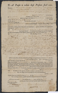 Deed of property in Wellfleet sold to Edmund Freeman of Truro by Edmund Freeman and Sarah King as Administrators on the Estate of Zephaniah King, of Wellfleet