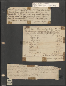 1700s Tax Record for John Hooker