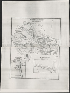 1876 Map of Washington