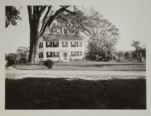 Second view of 37 Old Concord Road (c. 1935).