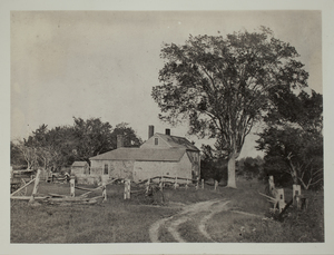 First View of 59 Oxbow Road, c. 1870.