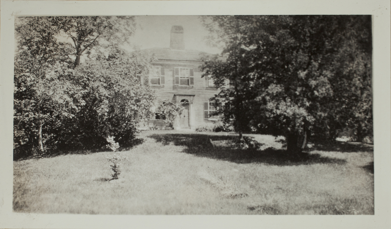 First View of 15 Sandy Pond Road, c. 1904.