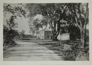 First View of 280 South Great Road, c. 1899.