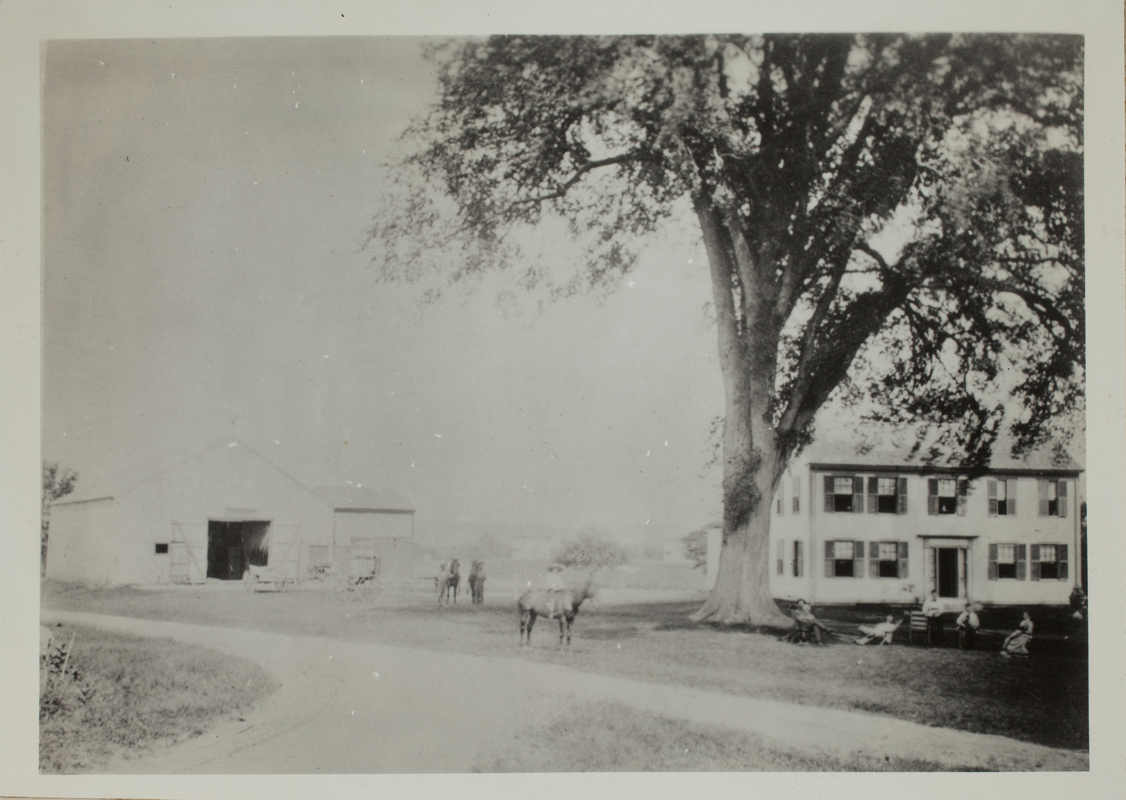 First view of 37 Old Concord Road (c. 1880).