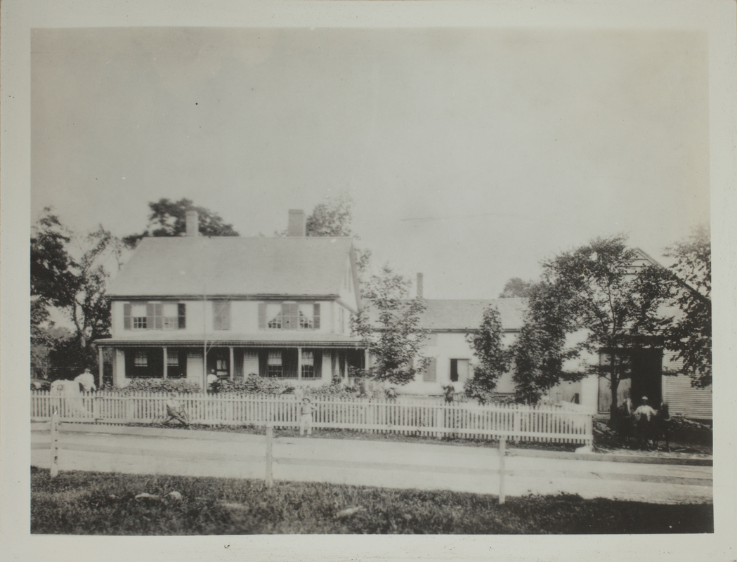 First View of Thomas Jenkinson House, c. 1877.