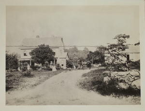 First view of 140 Concord Road (c. 1880).