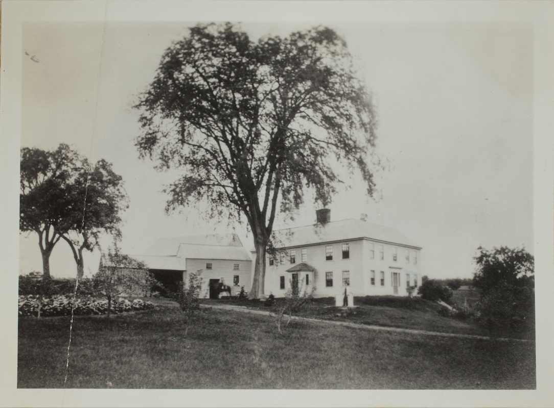 First view of 191 Concord Road (c. 1870).
