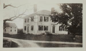 First View of 22 Weston Road, c. 1904.