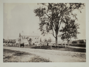 First View of 236 South Great Road, c. 1870.