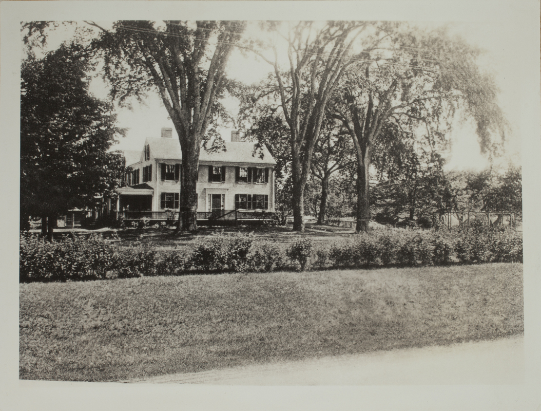 First View of 80 Trapelo Road, c. 1904.