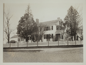 First View of 2 Bedford Road, c. 1900.