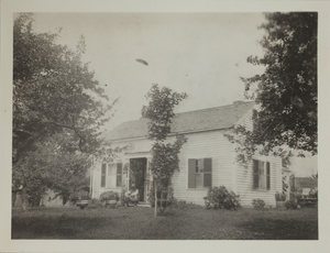 First view of 270 Concord Road (c. 1870).