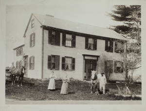 First View of 47 Old Sudbury Road, c. 1898.