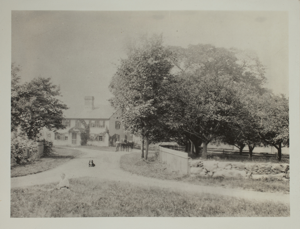 First view of 36 Old Concord Road (c. 1880).
