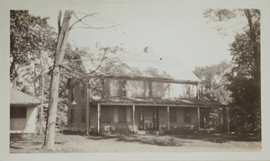 Second View of Thomas Jenkinson House, c. 1935.