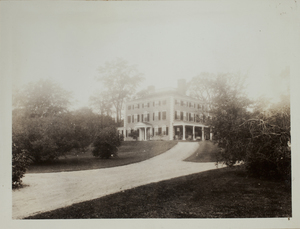 Second View of Codman Estate, c. 1935.