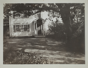 Second View of William Jones House (currently Drumlin Farm offices), c. 1935.