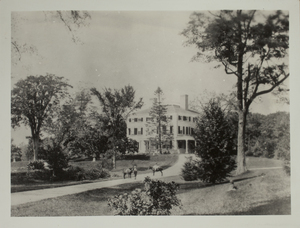 First View of Codman Estate, c. 1872.