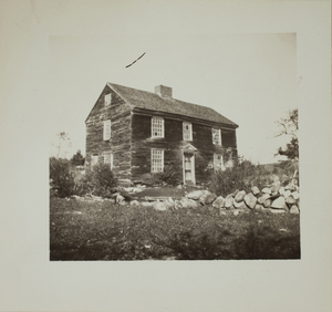 Third view of Nelson House, Minute Man National Historical Park, undated.