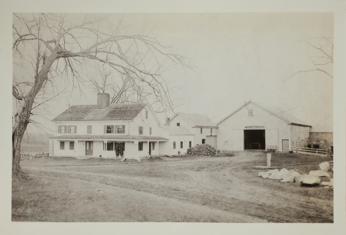 First view of 268 Cambridge Turnpike, c. 1884.