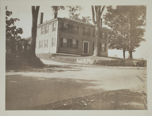 Second view of Brooks Tavern, Minute Man National Historical Park, c. 1935.