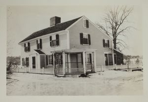 First view of home on Farrington Memorial, 291 Concord Turnpike, undated.