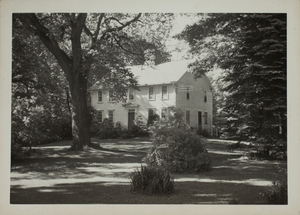 Second view of Brooks House, Minute Man National Historical Park, undated.