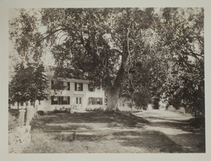 First view of 28 Lexington Road, c. 1880.
