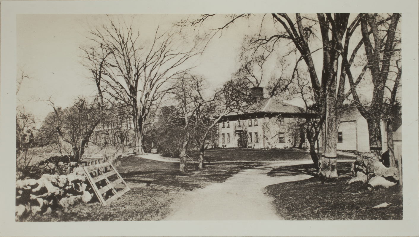 First View of Garfield-Fisk House, c. 1904.