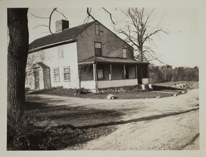 Second view of home on Farrington Memorial, 291 Concord Turnpike, undated.