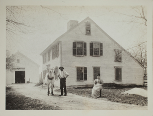 First view of Brooks-Bean House, c. 1888.