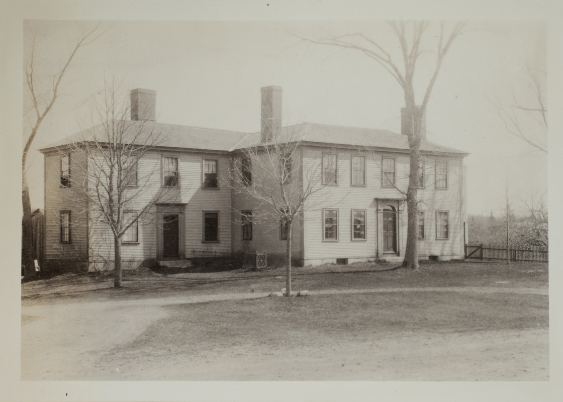 First view of Nelson House, Minute Man National Historical Park, undated.