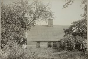 Third (Rear) view of Brooks-Bean House, undated.