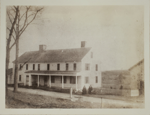 First view of 7 Old Lexington Road, c. 1875.