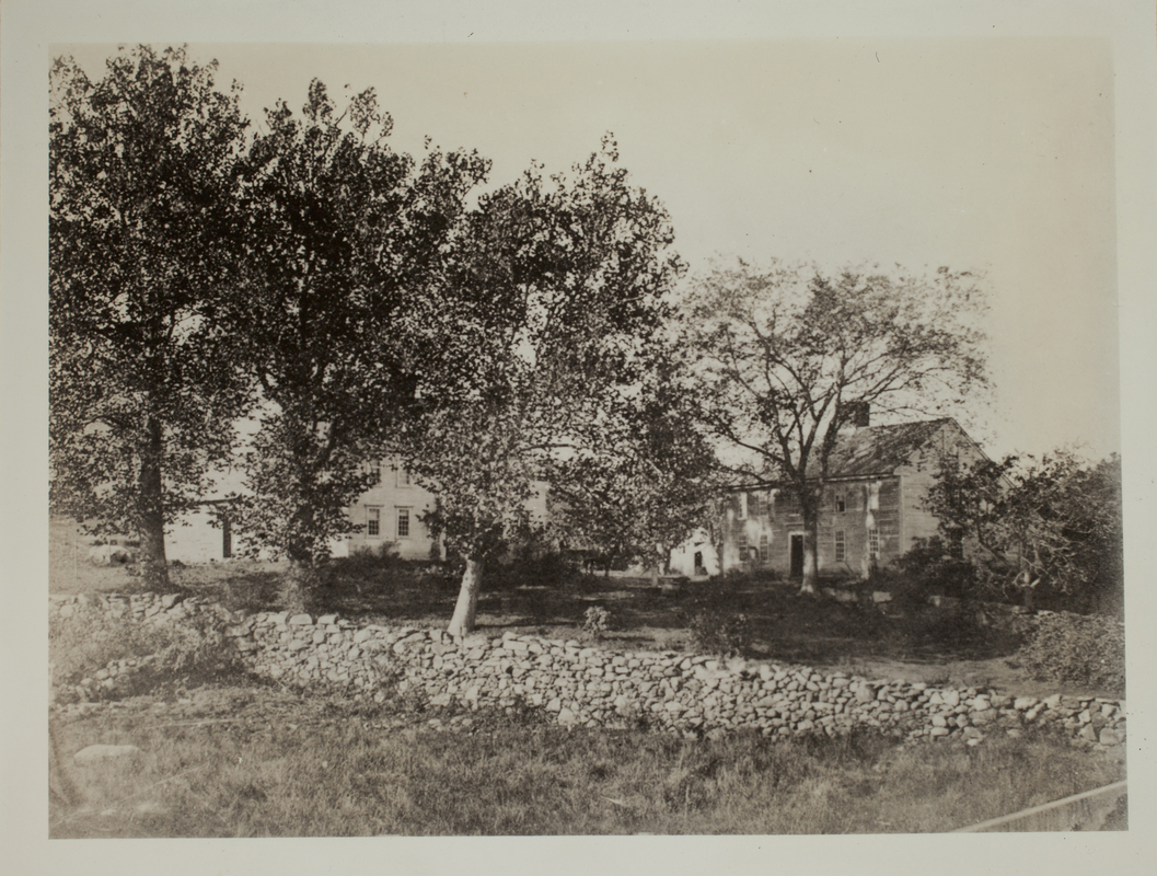First view of Brooks House, Minute Man National Historical Park, undated.