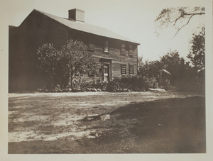 Second view of Hartwell Tavern, Minute Man National Historical Park, c. 1935.