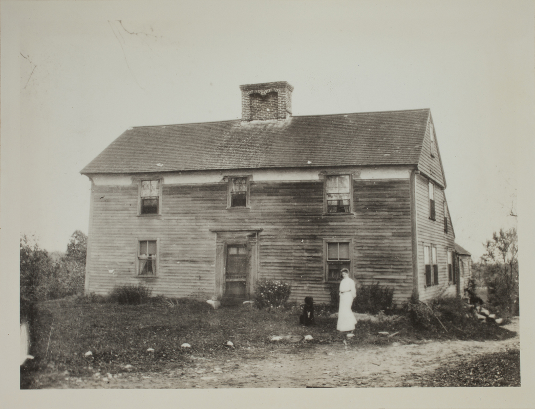 First view of William Smith House, Minute Man National Historical Park, undated.