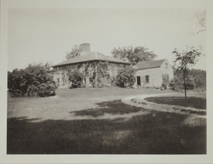 Second View of Garfield-Fisk House, c. 1935.