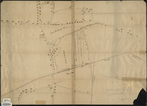 Plan or map showing the laying out of Rail Road Street