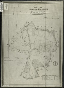 A plan of South Reading in the County of Middlesex