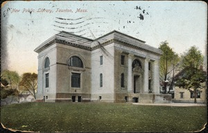 New public library, Taunton, Mass.