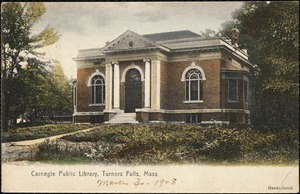 Carnegie Public Library, Turners Falls, Mass.