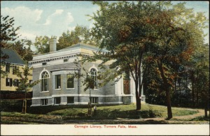 Carnegie Library, Turners Falls, Mass.