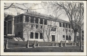 Chester Corbin Public Library - Webster, Massachusetts